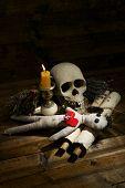 image of voodoo  - Conceptual photo of love magic - JPG