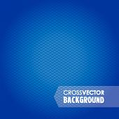 pic of cross-hatch  - a abstract small cross blue background image - JPG