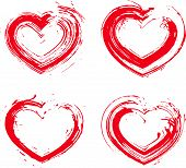 pic of hand heart  - Set of hand - JPG