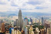 stock photo of klcc  - Kuala Lumpur  - JPG