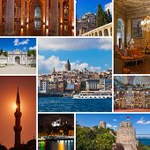 picture of cistern  - Collage of Istanbul Turkey images  - JPG