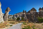 picture of chimney rock  - Fairy chimneys  - JPG