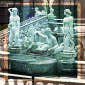 stock photo of piazza  - Palermo Piazza Pretoria also known as the Square of Shame Piazza della vergogna  - JPG