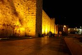 old wall in jerusalem - jaffa gate