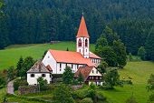 St Roman Church In Wolfach, Schwarzwald, Germany