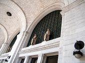 stock photo of amtrak  - The Union Station in Washington DC USA - JPG