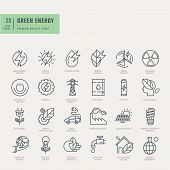 picture of transportation icons  - Thin line icons set - JPG