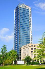 picture of frankfurt am main  - Skyscraper Frankfurt am Main Hessen in Germany - JPG
