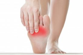 picture of foot  - Pain in the foot - JPG