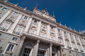 Постер, плакат: The Royal Palace Of Madrid Or Palacio Real De Madrid