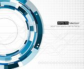 Mechanical abstract background - vector illustration