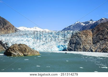 South Sawyer Glacier At The