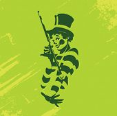 stock photo of mummer  - Clown Illustration Series - JPG