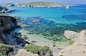 The Blue Lagoon in Comino, Malta
