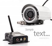 surveillance camera and receiver