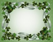 St Patricks Day Border Sparkle