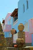 stock photo of sissy  - Desolate apartment in Sissi on Crete - JPG