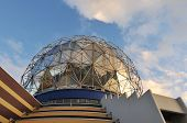 picture of geodesic  - geodesic dome of science world vancouver bc - JPG