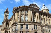 picture of west midlands  - Birmingham Museum and Art Gallery with famous Big Brum clock tower - JPG