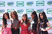 American girl group Fifth Harmony attend the Arthur Ashe Kids Day 2013 at National Tennis Center