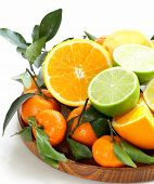 stock photo of clementine-orange  - different types of citrus fruits  - JPG