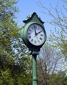 Outdoor Clock poster