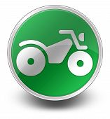 foto of four-wheeler  - Image Graphic Icon Button Pictogram with ATV symbol - JPG
