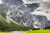 stock photo of troll  - Beautiful valley Troll Route Norway  - JPG