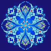 picture of motif  - Series of patterns designed using the old Ottoman motifs - JPG