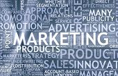 picture of mass media  - Marketing Background as Art with Related Terms - JPG