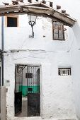 image of asilah  - A street in the old medina of Tetouan in Morocco - JPG