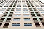 foto of high-rise  - New High Rise apartment condo building detail - JPG