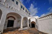 pic of trans  - Cape Coast Castle is a fortification in Ghana built by Swedish traders for trade in timber and gold - JPG