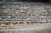 foto of bannister  - beautiful stairs in the old town - JPG