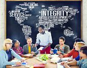 image of integrity  - Integrity Honesty Sincerity Trust Reliability Concept - JPG