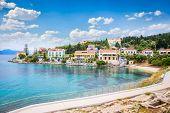 stock photo of greek-island  - Fiskardo village on Kefalonia Ionian island - JPG