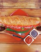 foto of french curves  - french sandwich  - JPG