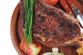 stock photo of stelles  - savory plate on wood  - JPG