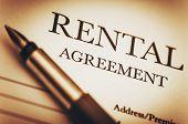 Rental Agreement poster