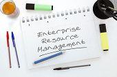 stock photo of enterprise  - Enterprise Resource Management  - JPG