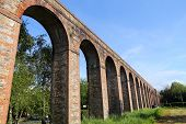stock photo of aqueduct  - Landmark in Italy  - JPG