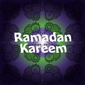 image of ramadan mubarak card  - Ramadan Kareem  - JPG