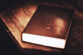 stock photo of torah  - Torah Book Central Reference of the Religious Judaic Tradition - JPG