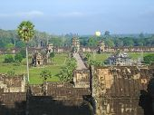 picture of mahabharata  - View from the imperial old khmer city  - JPG