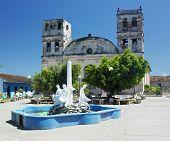 pic of senora  - Nuestra Senora de la Asuncion Cathedral - JPG