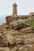 picture of por  - Pors Kamor lighthouse - JPG