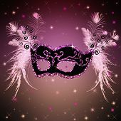 stock photo of venetian carnival  - carnival mask - JPG