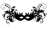 image of masquerade mask  - Masks for a masquerade - JPG