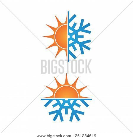 Climate Symbol Icon Winter And