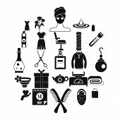 Recreation Icons Set. Simple Set Of 25 Recreation Vector Icons For Web Isolated On White Background poster